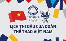 Lịch thi đấu ngày 28-7 của đoàn thể thao Việt Nam tại Olympic 2020: Hy vọng vào Văn Đương