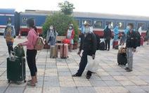 Hà Tĩnh đón hơn 800 công dân từ miền Nam về quê trên 'chuyến tàu đặc biệt'