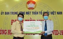 Vinasoy hỗ trợ tuyến đầu và cộng đồng một triệu sản phẩm sữa Fami