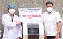 IUH ủng hộ Bệnh viện An Bình một máy xét nghiệm trị giá 1,1 tỉ đồng