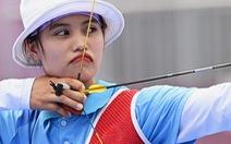Cập nhật Olympic 2020: Ánh Nguyệt dừng bước khi thất bại ở loạt 'mũi tên vàng'