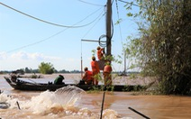 EVNSPC khuyến cáo sử dụng điện an toàn mùa mưa bão