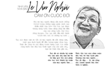 Bái vọng tiễn biệt nhà báo Lê Văn Nghĩa - Một người Sài Gòn rất Sài Gòn