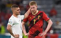 De Bruyne vẫn thi đấu trận gặp Ý dù bị đứt dây chằng