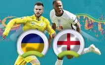 So sánh sức mạnh của Anh và Ukraine ở tứ kết Euro 2020