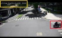Chạy mô tô nẹt pô trước trụ sở UBND TP.HCM, bị phạt 500.000 đồng