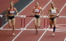 Quách Thị Lan về áp chót đợt chạy bán kết đầu tiên 400m vượt rào nữ tại Olympic 2020