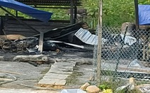 Cháy nhà lúc nửa đêm, 2 vợ chồng tử vong