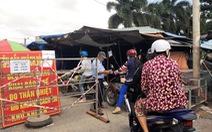 Thành phố Vĩnh Long thành lập tổ đi chợ giúp dân