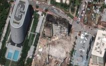Chung cư 12 tầng bị sập ở Mỹ: Phải dùng thuốc nổ phá dỡ
