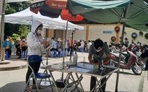Tìm người đến điểm xét nghiệm COVID-19 ở phường 17, quận Bình Thạnh