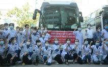 155 bác sĩ, nhân viên y tế, sinh viên Đà Nẵng chi viện cho Phú Yên và TP.HCM