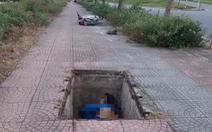 Điều tra vụ người đàn ông chết dưới hố cáp ngầm