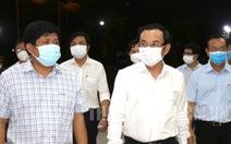 Bí thư Nguyễn Văn Nên: Nhanh chóng truy vết, khoanh vùng, xét nghiệm để sớm mở cửa chợ Bình Điền