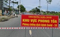 Phong tỏa Bệnh viện Phúc Hưng vì ca dương tính với COVID-19 liên quan đến chợ đầu mối Quảng Ngãi