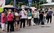 Số ca mới COVID-19 tăng kỷ lục, Hàn Quốc lo bùng dịch đợt 4