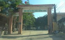 Bệnh viện duy nhất huyện miền núi Thường Xuân dừng nhận bệnh nhân do có ca COVID-19