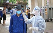 Dừng điểm thi ở Bắc Giang do có ca dương tính với COVID-19