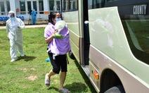 Huế đưa xe đón 20 người đi tàu từ TP.HCM ra Quảng Trị về quê cách ly