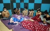35 thanh niên tụ tập với ma túy trong nhà nghỉ giữa giãn cách theo chỉ thị 16