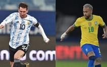 Messi 'sống mái' với Neymar