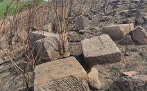 Bảo tồn bãi đá khắc nhiều ký tự gần dinh Bà Thu Bồn
