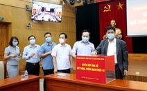 Vận động 670 triệu đồng, máy thở và vật tư y tế tặng Phú Yên