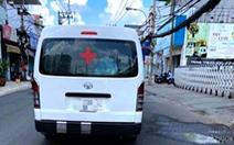 Lợi dụng cấp cứu COVID-19, xe cứu thương dỏm 'chặt chém' người bệnh