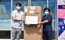 Minh Long tặng máy thở và 1000 bộ kit test COVID -19