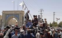 Taliban tiến như vũ bão, phó tổng thống Afghanistan bị đồn đã 'bỏ trốn'