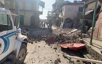 Động đất 7,2 độ rung chuyển Haiti, nhà cửa đổ sập