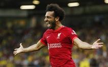 Salah tỏa sáng, Liverpool thắng đậm tân binh Norwich