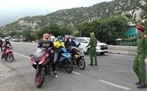 400 người đi xe máy từ Đồng Nai về Ninh Thuận trở thành F0
