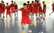 Đội tuyển futsal Việt Nam đưa 17 cầu thủ sang Tây Ban Nha tập huấn