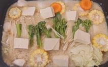 Mùa Vu Lan vào bếp nấu lẩu sữa đậu nành rau củ cùng diễn viên Kim Tuyến