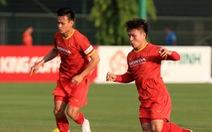 Đội tuyển Việt Nam sẽ đấu tập với đàn em U22 Việt Nam