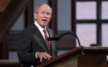 Cựu tổng thống George W. Bush lên tiếng về tình hình Afghanistan