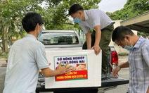 Đồng Nai tiếp tế hơn 300 tấn nhu yếu phẩm cho khu phong tỏa