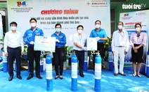 Mở rộng thêm 4 trạm phân phối bình oxy hỗ trợ người dân chống dịch