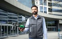 Drone được hỗ trợ AI và 5G đầu tiên trên thế giới