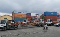 Hàng hoá đang tồn ở cảng Cát Lái lên tới gần 107.000 teu