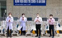 Tặng 5 máy thở, 1 xe ô tô, thiết bị y tế cho Bệnh viện An Bình và Trung tâm cấp cứu 115