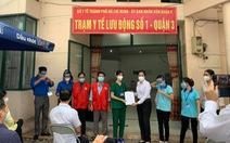 6 trạm y tế lưu động chăm sóc F0 đầu tiên của TP.HCM hoạt động, dự kiến lập 400 trạm