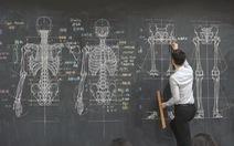 Giảng viên gây sốt với những bản vẽ giải phẫu siêu chi tiết