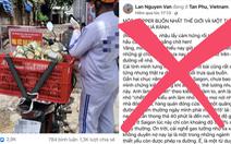 Xử phạt chủ tài khoản Facebook đăng bài viết ship tro cốt sai sự thật