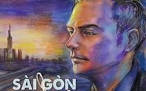 Kyo York đưa tranh 'Sài Gòn trong thời giãn cách' vào MV Sài Gòn thương