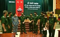 Quân khu 9 xuất quân hỗ trợ TP.HCM chống dịch