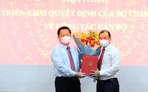 Trao quyết định bổ nhiệm ông Lê Hải Bình làm phó trưởng Ban Tuyên giáo trung ương