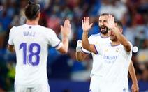 Gareth Bale ghi bàn đầu tiên sau 2 năm, Real Madrid vẫn bị chia điểm