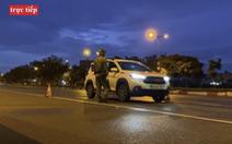Trực tiếp: Các chốt kiểm soát trên đường phố TP.HCM tối 23-8